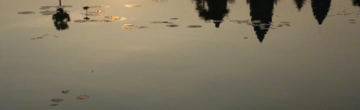 Angkor Wat Reflecting Pool