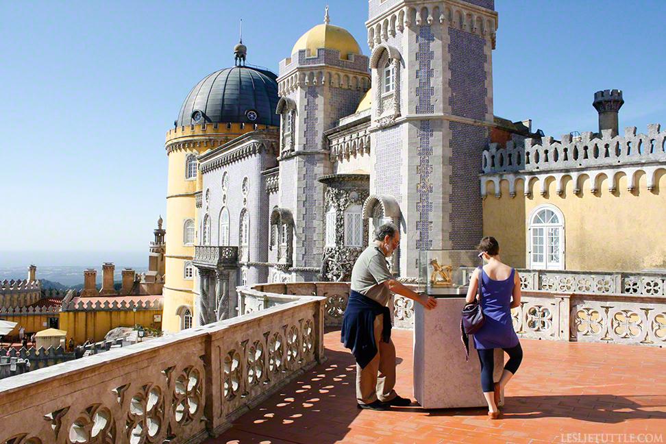 Sintra Castle Palacio Nacional de Pena Portugal