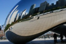 """The Bean"" Cloud Gate Sculpture"