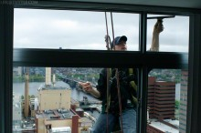 Skyscraper Window-Washer/Smoker