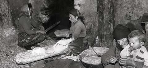 Breadmaking over Hearth