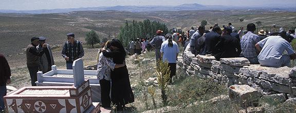 Kurdish Family Funeral