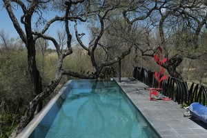 Embraced pool
