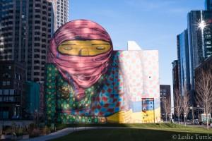 Os Gemeos wall mural