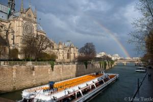 Seine rainbow