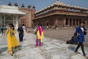 Fatehpur Sikri visitors